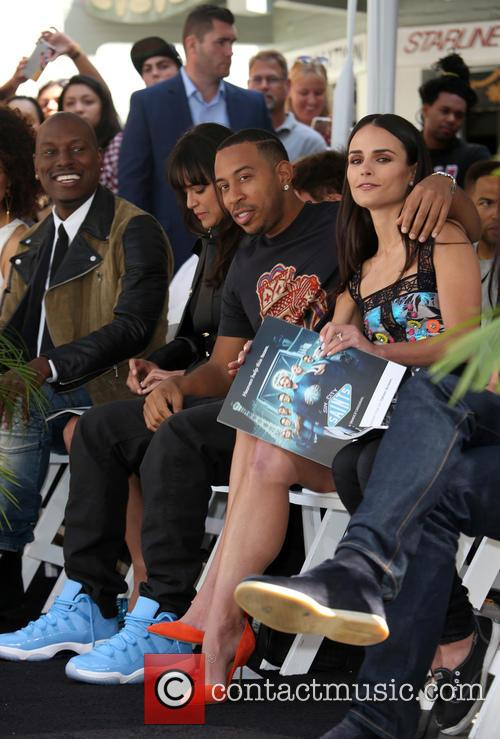 Tyrese Gibson, Michelle Rodriguez, Ludacris and Jordana Brewster 2