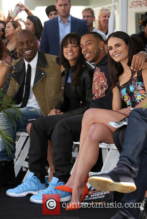 Tyrese Gibson, Michelle Rodriguez, Ludacris and Jordana Brewster 4