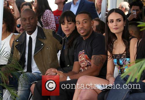 Tyrese Gibson, Michelle Rodriguez, Ludacris and Jordana Brewster 7