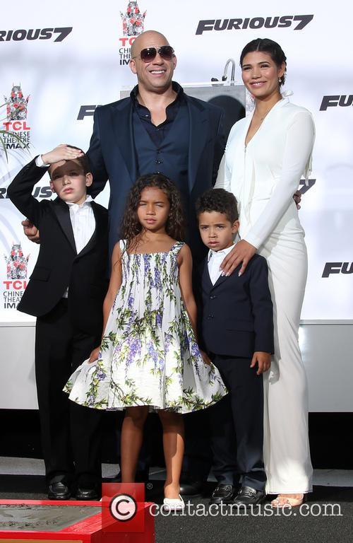 Paloma Jiménez, Hania Riley Sinclair, Vincent Sinclair and Pauline Sinclair
