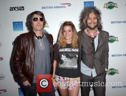 Wayne Coyne, Katy Weaver, Steven Drozd and The Flaming Lips 2