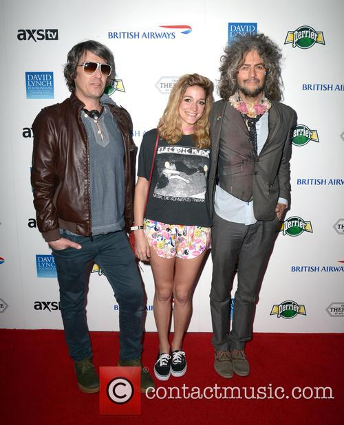Wayne Coyne, Katy Weaver, Steven Drozd and The Flaming Lips 3