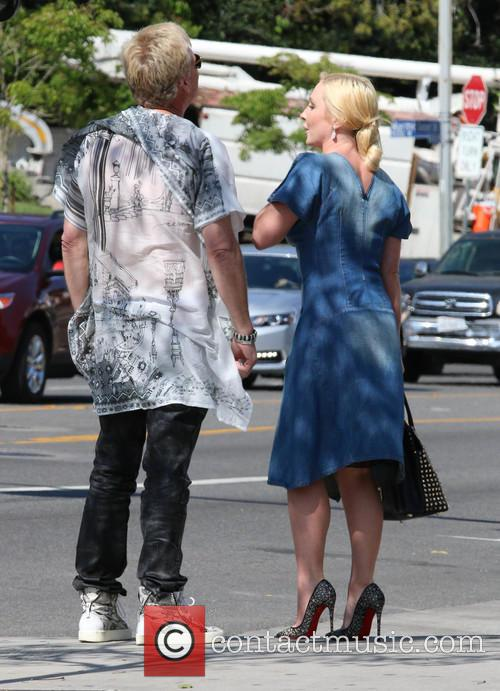 Joe Simpson and Nikki Lund out in Hollywood