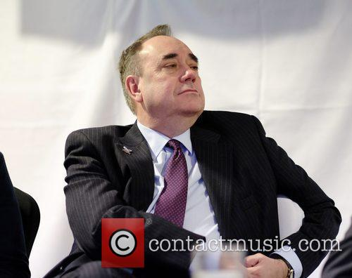 Aklex Salmond attends Hannah Bardell SNP Adoption Dinner