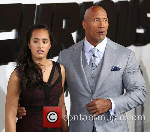 Simone Alexandra Johnson and Dwayne Johnson 2