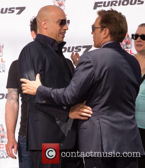 Vin Diesel and Kevin Huvane