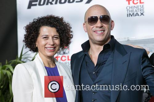 Donna Langley and Vin Diesel 3
