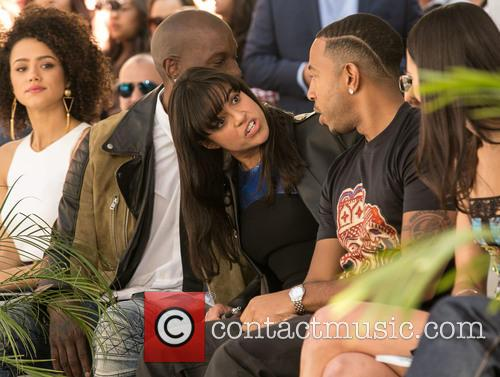Nathalie Emmanuel, Tyrese Gibson, Michelle Rodriguez, Ludacris and Jordana Brewster 5