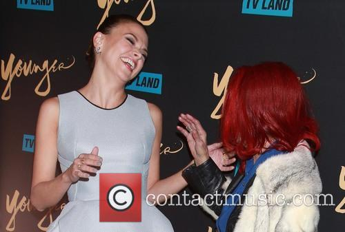 Sutton Foster and Patricia Field 6