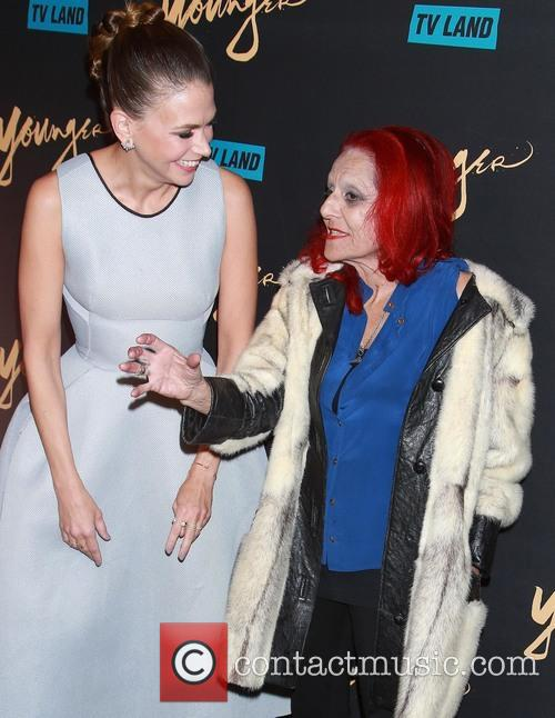 Sutton Foster and Patricia Field 7