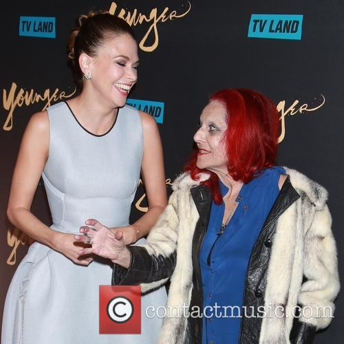 Sutton Foster and Patricia Field 8