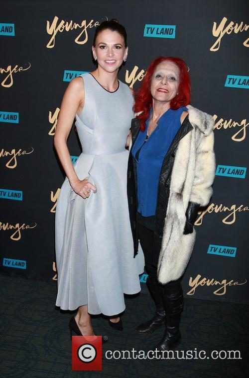 Sutton Foster and Patricia Field 9
