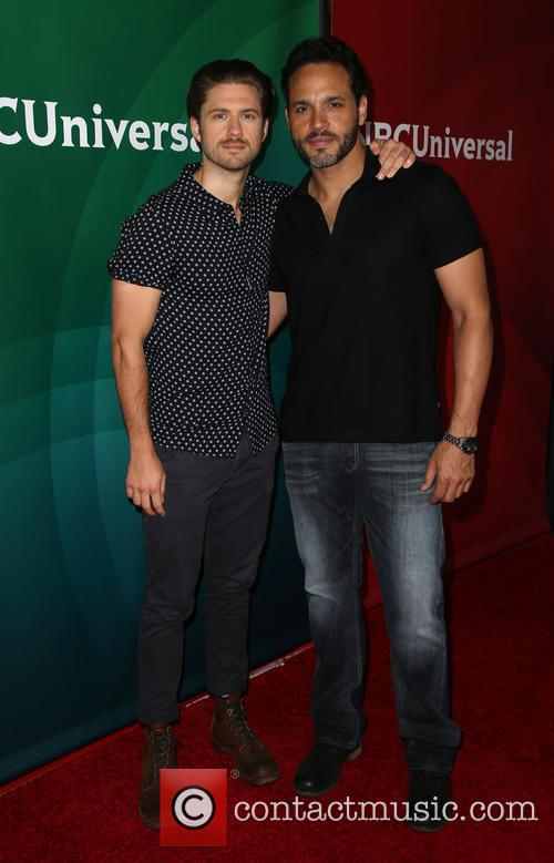 Aaron Tveit and Daniel Sunjata 1