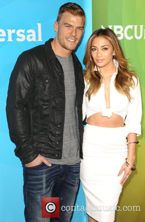 Alan Ritchson and Nicole Scherzinger 1