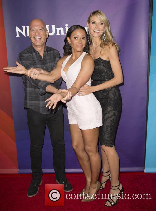 Howie Mandel, Mel B and Heidi Klum 2