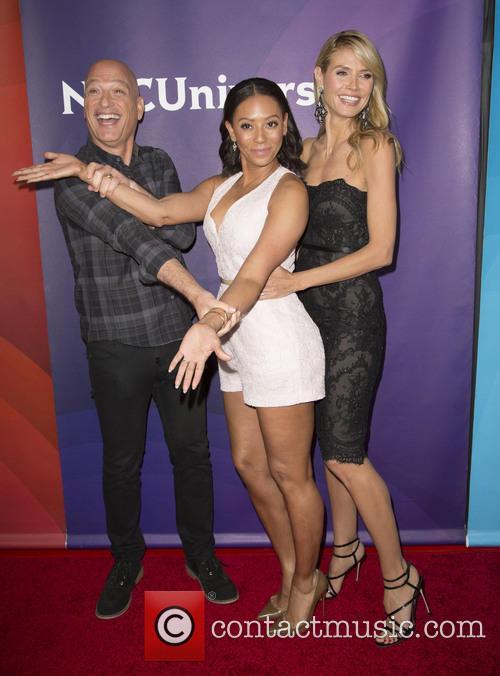 Howie Mandel, Mel B and Heidi Klum 3