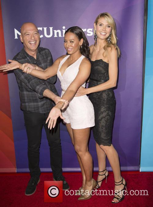Howie Mandel, Mel B and Heidi Klum 4