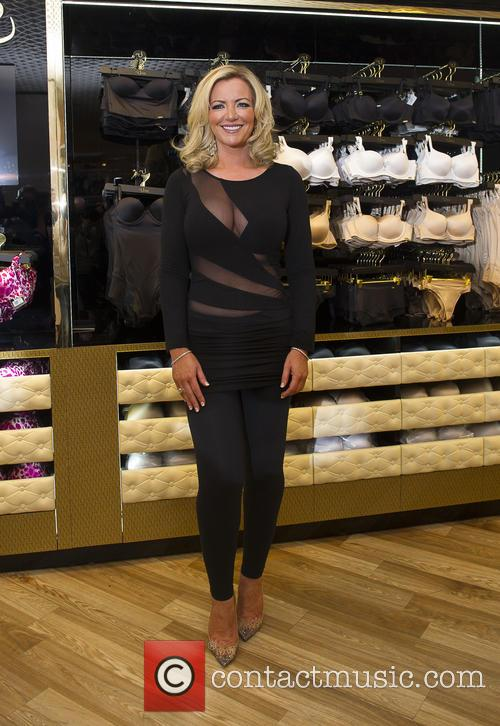 Michelle Mone launching her new range of underwear