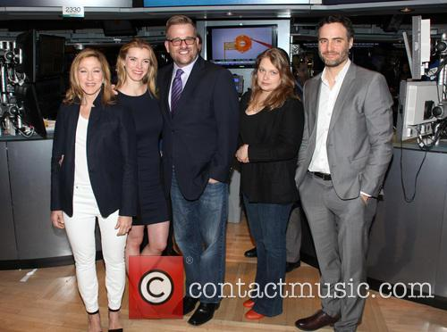 Edie Falco, Betty Gilpin, Stephen Wallem, Merritt Wever and Dominic Fumusa 3