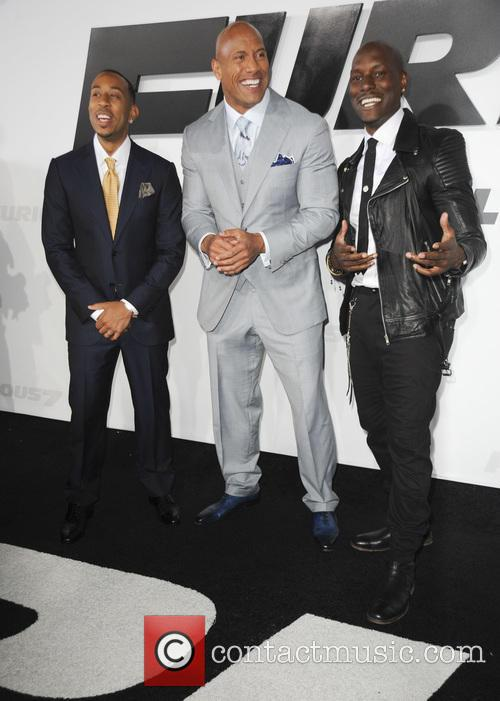 Ludacris, Dwayne Johnson and Tyrese Gibson 9