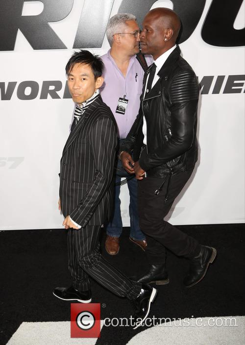 James Wan and Tyrese Gibson 5