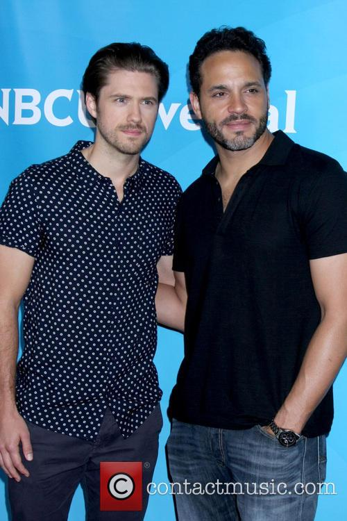 Aaron Tveit and Daniel Sanjuta 11