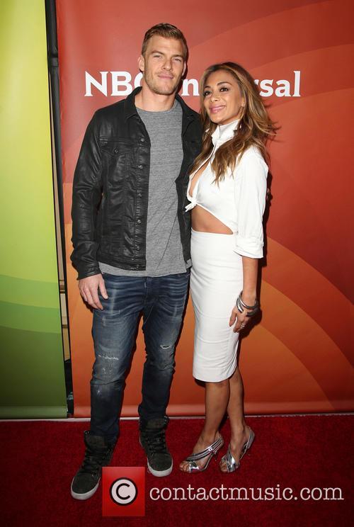 Alan Ritchson and Nicole Scherzinger 8