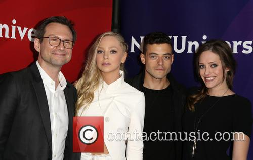 Christian Slater, Portia Doubleday, Rami Malek and Carly Chaikin 7