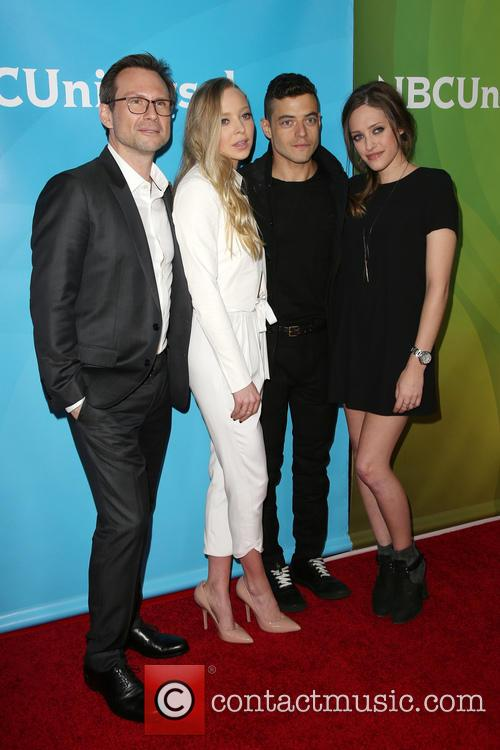 Christian Slater, Portia Doubleday, Rami Malek and Carly Chaikin 8
