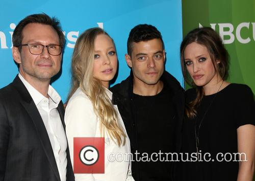 Christian Slater, Portia Doubleday, Rami Malek and Carly Chaikin 9