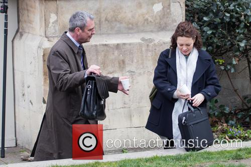 Olivia Colman and Neil Morrissey 2