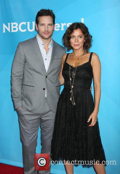 Peter Facinelli and Anna Friel 5