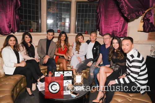 Abigail Clarke, Junaid Ahmed, Dj Sarah Clarke, Sara Mclean, Farah Sattaur and Rob Davies 4