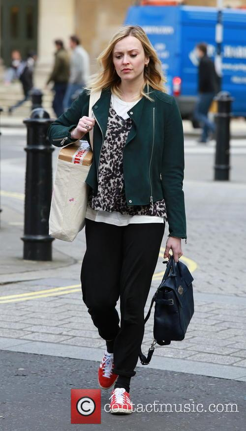 Fearne Cotton at the BBC Radio 1 studios