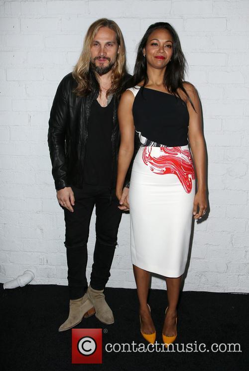 Marco Perego and Zoe Saldana 3