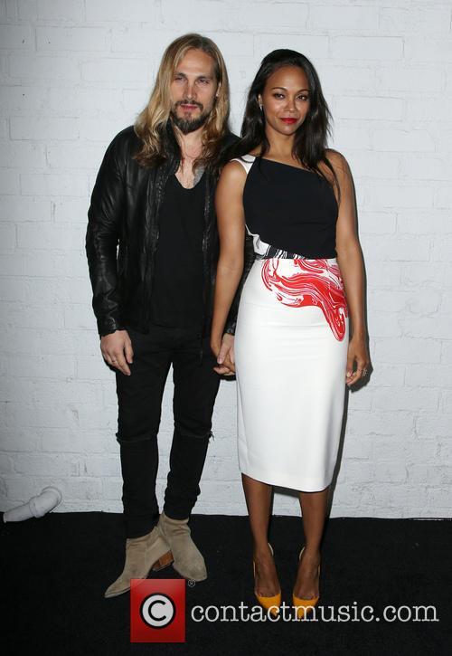 Marco Perego and Zoe Saldana 5
