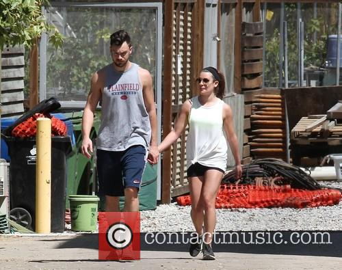 Lea Michele and Matthew Paetz 5