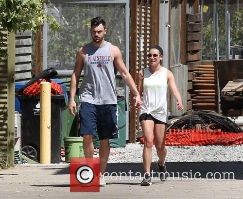 Lea Michele and Matthew Paetz 6