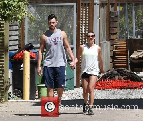 Lea Michele and Matthew Paetz 7