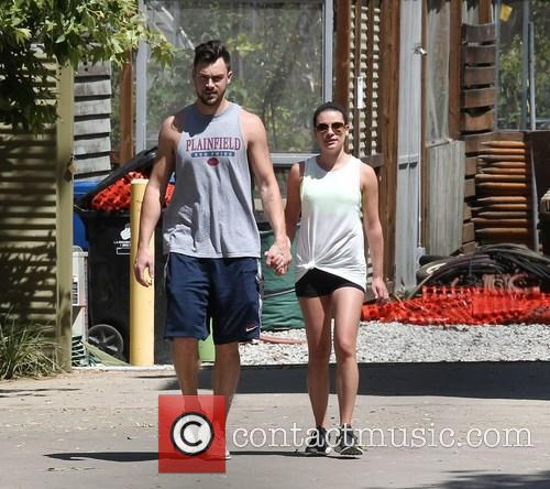 Lea Michele and Matthew Paetz 9
