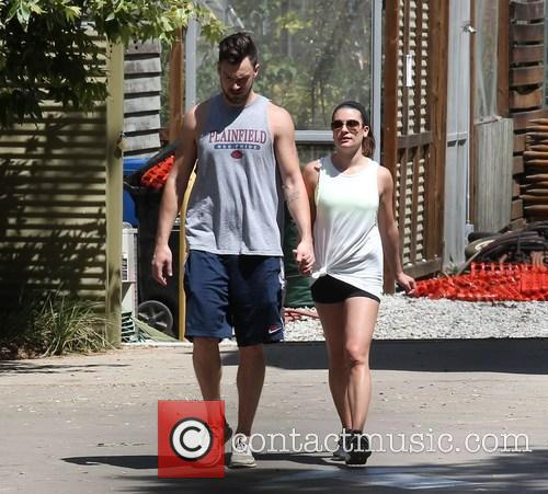 Lea Michele and Matthew Paetz 10