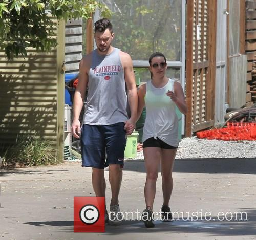 Lea Michele and Matthew Paetz 11