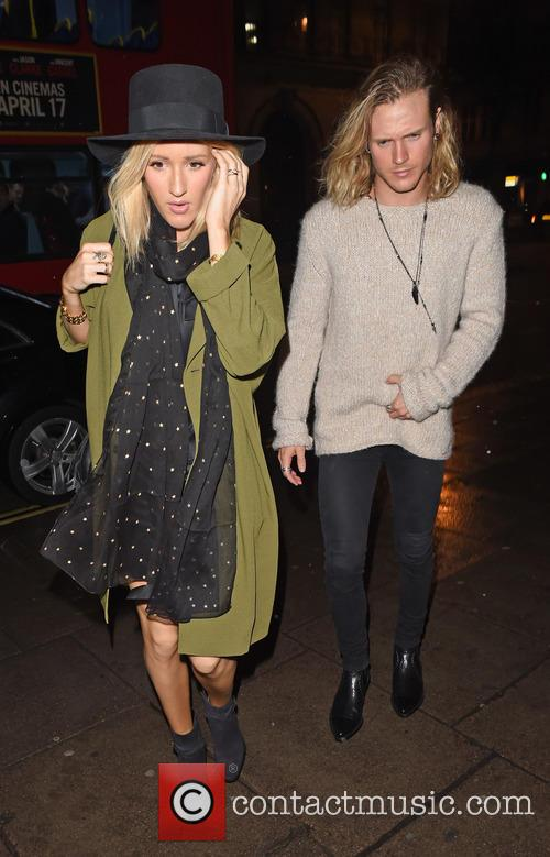 Ellie Goulding and Dougie Poynter 1