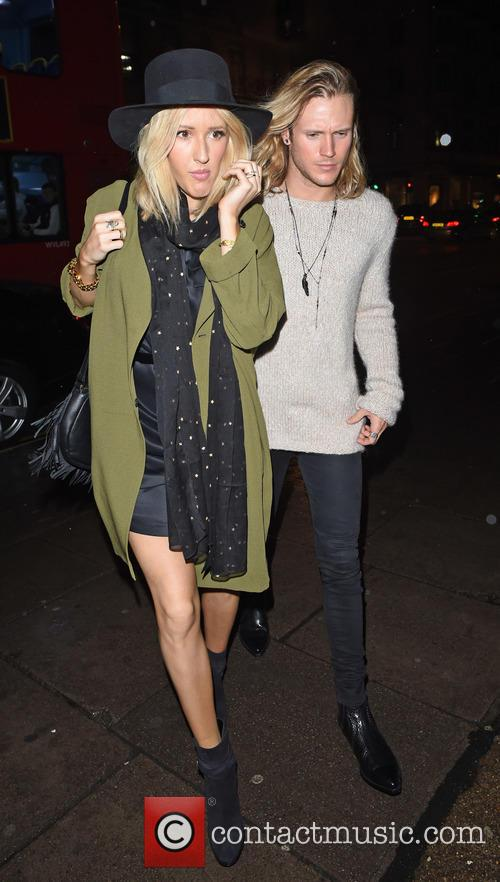 Ellie Goulding and Dougie Poynter 11