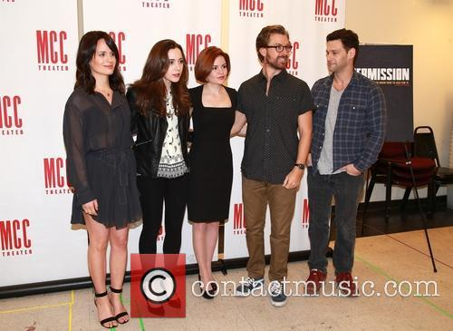 Elizabeth Reaser, Talene Monahon, Nicole Lowrance, Lucas Near-verbrugghe and Justin Bartha 11