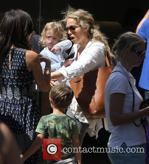 Elizabeth Berkley and Sky Lauren 1