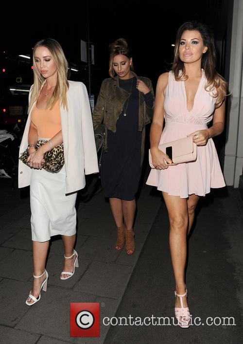 Lauren Pope, Ferne Mccann and Jessica Wright 2