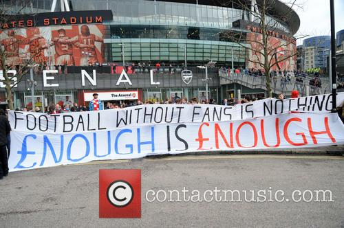 Arsenal Fans Protest 4