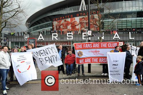 Arsenal Fans Protest 8