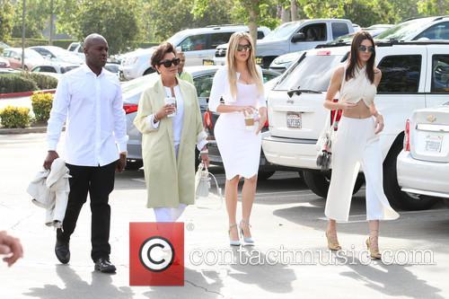 Corey Gamble, Kris Jenner, Khloe Kardashian and Kendall Jenner 2
